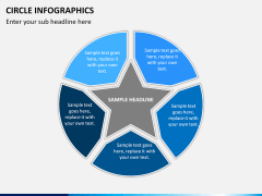Circle Infographics PPT slide 8