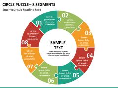 Circle puzzle PPT slide 17