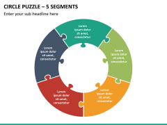 Circle puzzle PPT slide 26