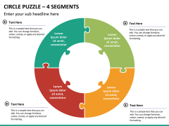 Circle puzzle PPT slide 27