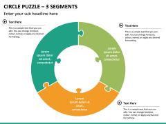 Circle puzzle PPT slide 28