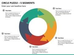 Circle puzzle PPT slide 29