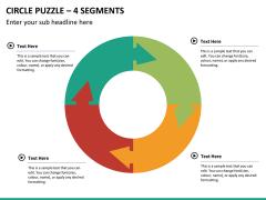 Circle puzzle PPT slide 30