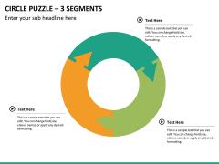Circle puzzle PPT slide 31