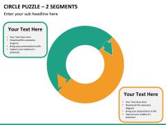 Circle puzzle PPT slide 32