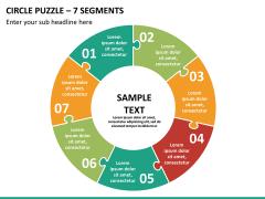 Circle puzzle PPT slide 18