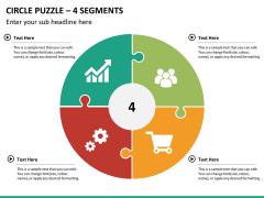 Circle puzzle PPT slide 20