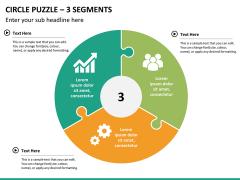Circle puzzle PPT slide 21