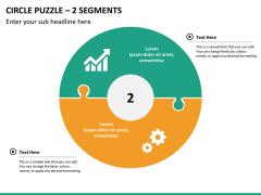 Circle puzzle PPT slide 22