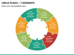 Circle puzzle PPT slide 24