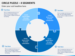 Circle puzzle PPT slide 11