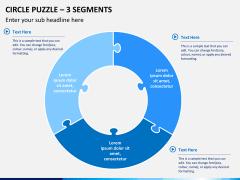 Circle puzzle PPT slide 12