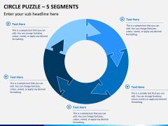 Circle puzzle PPT slide 13