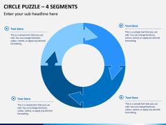 Circle puzzle PPT slide 14