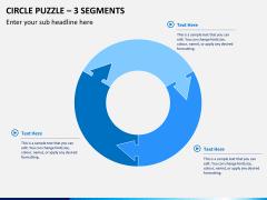 Circle puzzle PPT slide 15
