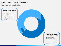 Circle puzzle PPT slide 16