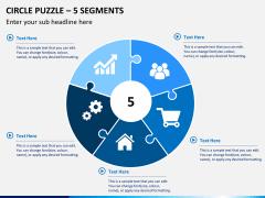 Circle puzzle PPT slide 3