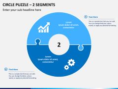 Circle puzzle PPT slide 6