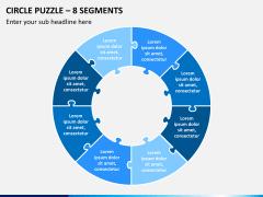 Circle puzzle PPT slide 7