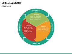 Circle segments PPT slide 44