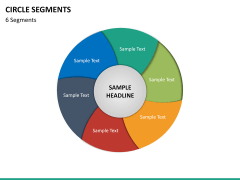 Circle segments PPT slide 60