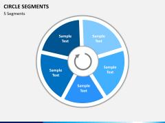 Circle segments PPT slide 12