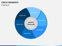 Circle segments PPT slide 17
