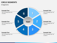 Circle segments PPT slide 18