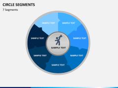 Circle segments PPT slide 27