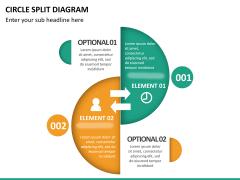 Circle Split Diagram PPT slide 14