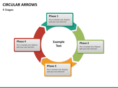 Circular arrows PPT slide 38
