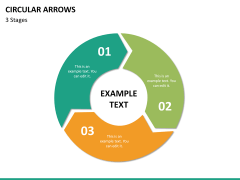 Circular arrows PPT slide 31