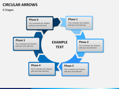 Circular arrows PPT slide 20