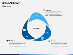 Circular Chart PPT slide 1