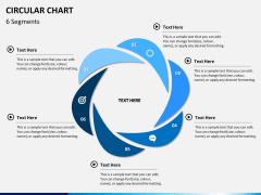 Circular Chart PPT slide 4