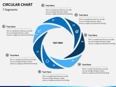 Circular Chart PPT slide 5