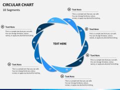 Circular Chart PPT slide 8