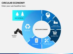 Circular economy PPT slide 1