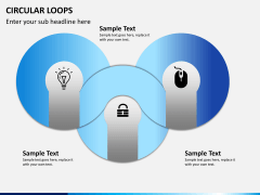 Circular loops PPT slide 2