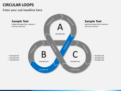 Circular loops PPT slide 3