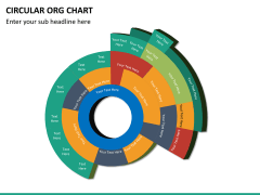 Circular ORG chart PPT slide 21