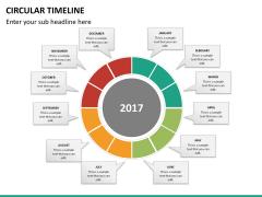 Circular Timeline PPT slide 26
