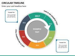 Circular Timeline PPT slide 28