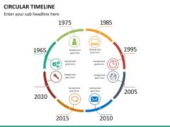 Circular Timeline PPT slide 20