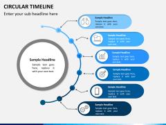 Circular Timeline PPT slide 10