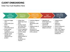 Client onboarding PPT slide 19