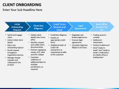 Client onboarding PPT slide 9
