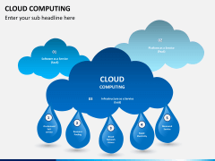 Cloud computing PPT slide 1