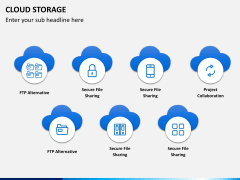 Cloud storage PPT slide 2