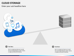 Cloud storage PPT slide 4